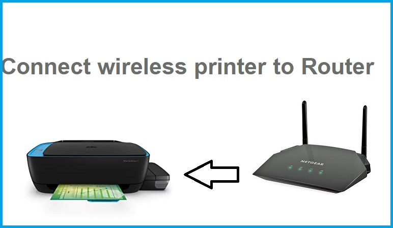 Printer to router